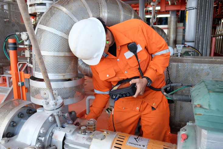 Figure 5: Vibration monitoring is a fundamental technique in an electrical motor inspection program.