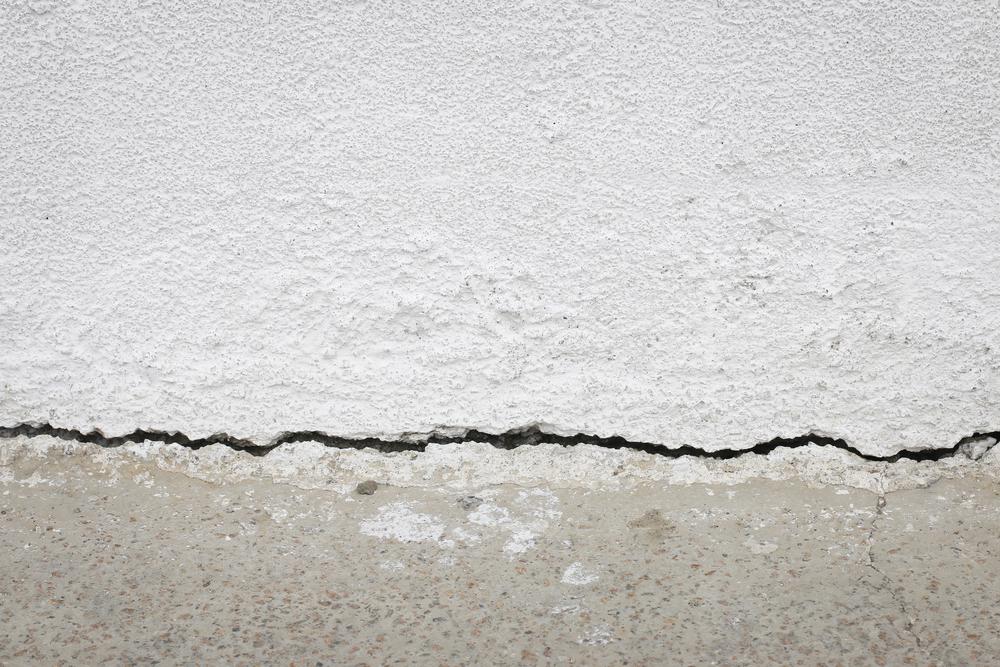 Figure 3: Cracked foundation.