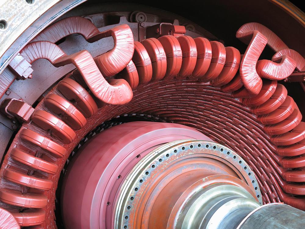 Figura 1: Entrehierro de generador eléctrico.